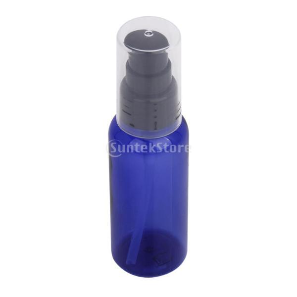 【ノーブランド品】50mlスプレーボトル、携帯用小分けボトル、 化粧品容器/ ブルー/ 3個入り|stk-shop|02
