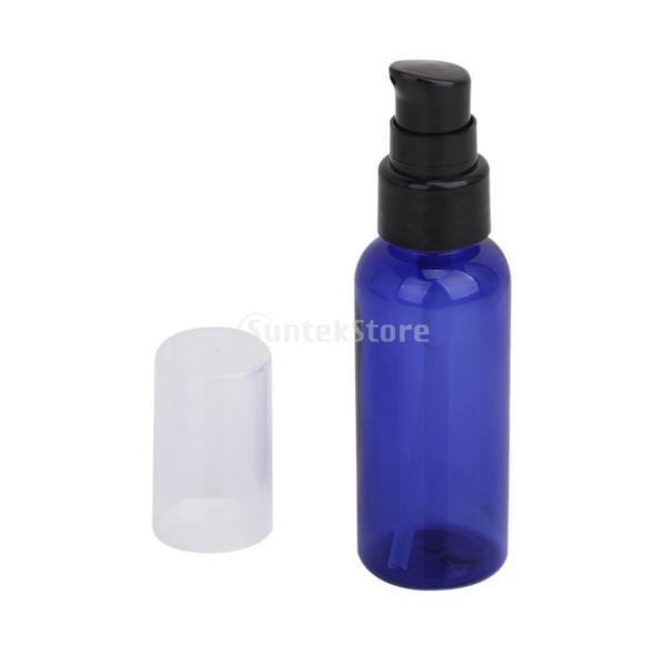 【ノーブランド品】50mlスプレーボトル、携帯用小分けボトル、 化粧品容器/ ブルー/ 3個入り|stk-shop|03