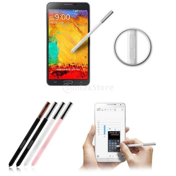 Dovewill  Samsung Galaxy Note 3適用 容量性 スタイラス タッチペン 2個セット 白と黒|stk-shop|05
