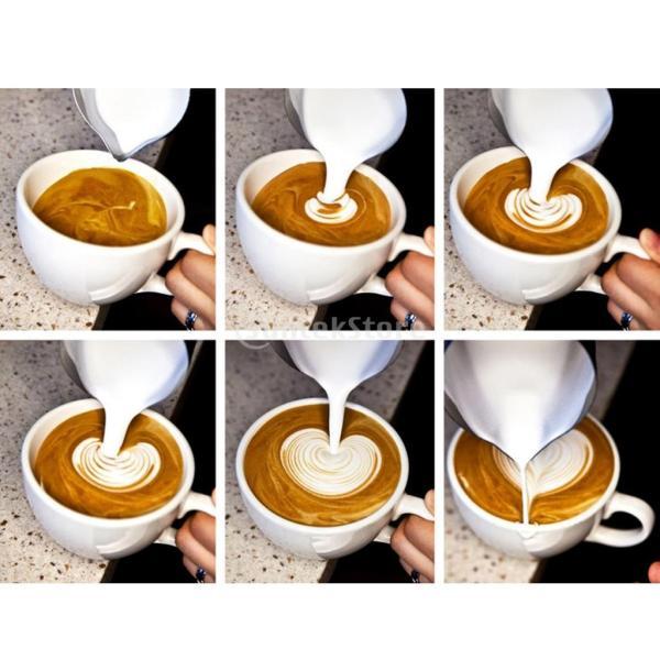 2個 真空断熱 コーヒーポット 保温冷水ボトル テーブル ポット 魔法瓶 と ステンレススチール製 大容量 ミルク泡立てジャグ ミルク泡立て器|stk-shop|17