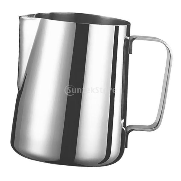 2個 真空断熱 コーヒーポット 保温冷水ボトル テーブル ポット 魔法瓶 と ステンレススチール製 大容量 ミルク泡立てジャグ ミルク泡立て器|stk-shop|18