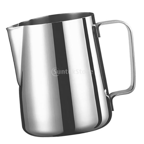 2個 真空断熱 コーヒーポット 保温冷水ボトル テーブル ポット 魔法瓶 と ステンレススチール製 大容量 ミルク泡立てジャグ ミルク泡立て器|stk-shop|19