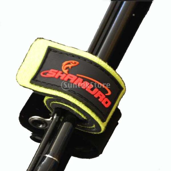 椅子マウント  耐食性 釣りロッド ホルダー & 2本 釣りロッドバンド タックル ストラップ  通気性
