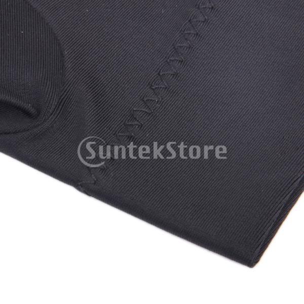 プロフェッショナル ビリヤード 左 3フィンガー グローブ 専用手袋 ブラックとグレー 4枚セット|stk-shop|09