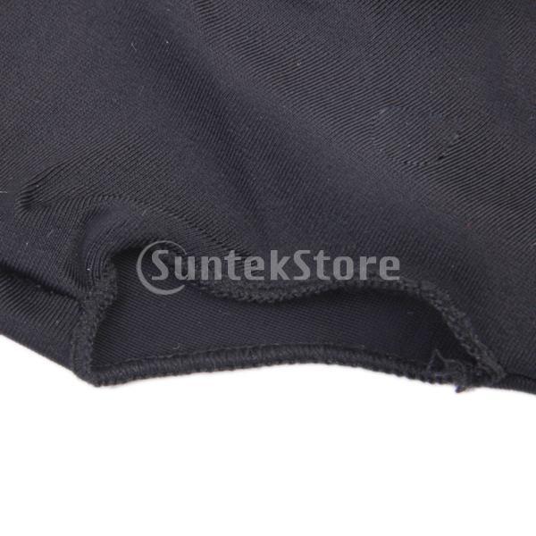 プロフェッショナル ビリヤード 左 3フィンガー グローブ 専用手袋 ブラックとグレー 4枚セット|stk-shop|10