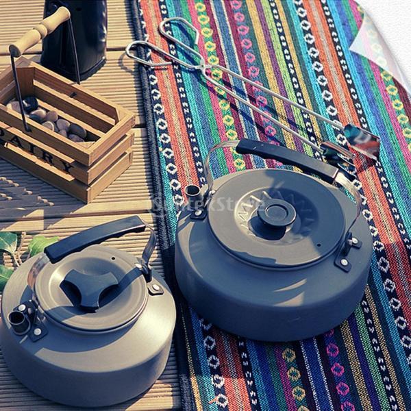 アルミ合金 1600ml アウトドア キャンプ ハイキング用 茶ケトル コーヒーポット 150ml  カップ マグカップ |stk-shop|13