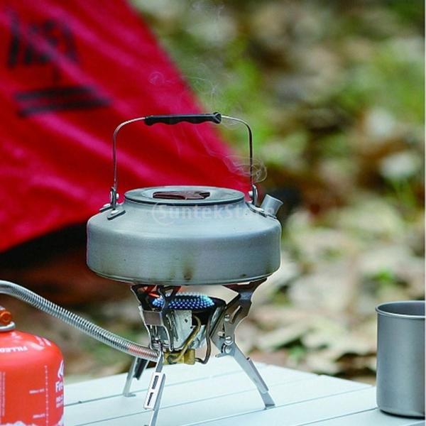 アルミ合金 1600ml アウトドア キャンプ ハイキング用 茶ケトル コーヒーポット 150ml  カップ マグカップ |stk-shop|04