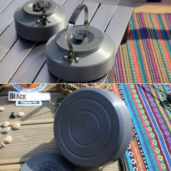 アルミ合金 1600ml アウトドア キャンプ ハイキング用 茶ケトル コーヒーポット 150ml  カップ マグカップ |stk-shop|05