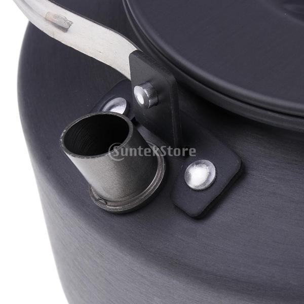 アルミ合金 1600ml アウトドア キャンプ ハイキング用 茶ケトル コーヒーポット 150ml  カップ マグカップ |stk-shop|07