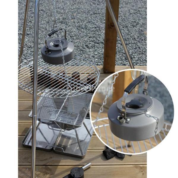 アルミ合金 1600ml アウトドア キャンプ ハイキング用 茶ケトル コーヒーポット 150ml  カップ マグカップ |stk-shop|10