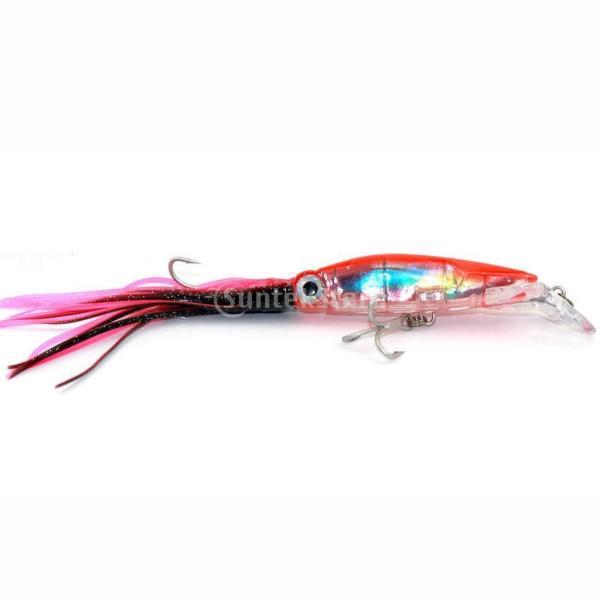3個入り イカ釣りルアー 釣り ルアー フィッシング イカ イキイキ 高品質 ABSハードフック|stk-shop|12