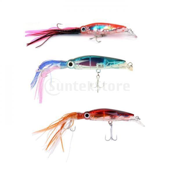 3個入り イカ釣りルアー 釣り ルアー フィッシング イカ イキイキ 高品質 ABSハードフック|stk-shop|14