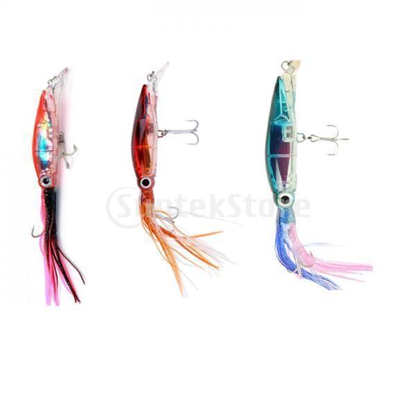 3個入り イカ釣りルアー 釣り ルアー フィッシング イカ イキイキ 高品質 ABSハードフック|stk-shop|04