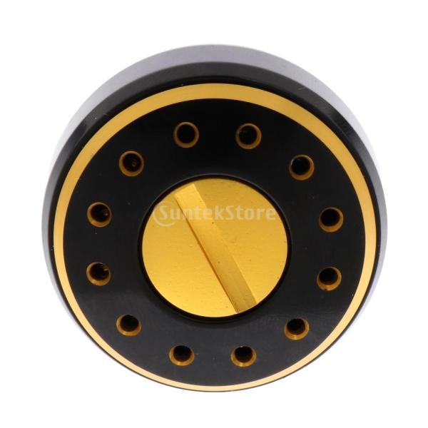 Flameer 軽量 耐食性 交換用 ギア ノブ リールハンドル 釣り パワー 回転リール用 2個入 全2タイプ - S+M