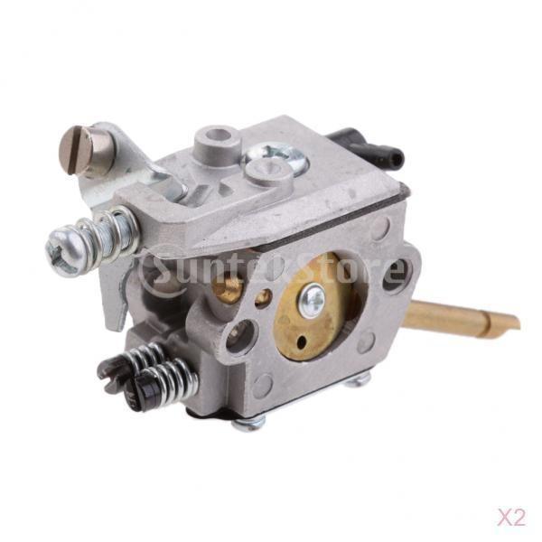高品質 キャブレター(2個) 気化器 Stihl H24D FS48 FS52 FS66 FS81 FS106用 チェーンソー部品 お買い得