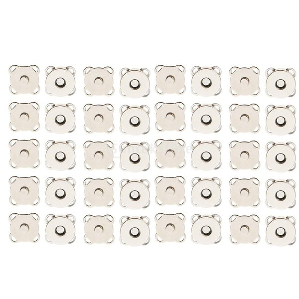 バッグ 磁気ボタン スナップ 衣類 縫製 工芸 20セット 14/18mm 2サイズ stk-shop 08