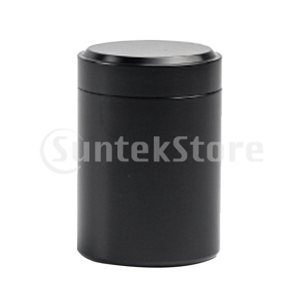 コーヒー缶 茶キャディラウンド アルミ缶 ジュエリーボックス ガスケット付き 気密蓋
