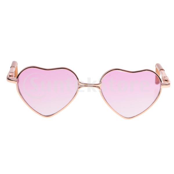 メガネ 眼鏡 ハート形 サングラス 1/6スケール  アゾン リカ人形用 装飾 アクセサリー