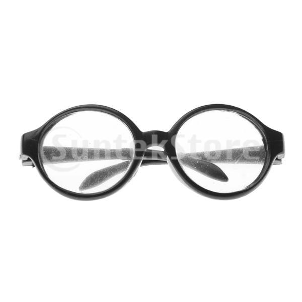人形用眼鏡 メガネ 丸型フレーム 18インチアメリカンガールドール用 装飾 アクセサリー 贈り物