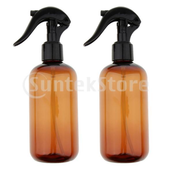 液体用空ボトル 押し式詰替用ボトル 詰替え容器 霧吹き 空ボトル スプレーボトル 遮光瓶 6個入り|stk-shop|02