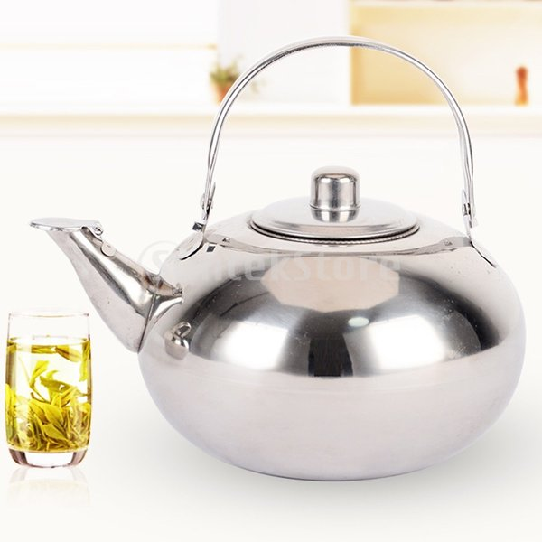 2ピースステンレス鋼ティーポットコーヒー軽量リムーバブル注入器ケトル|stk-shop|04