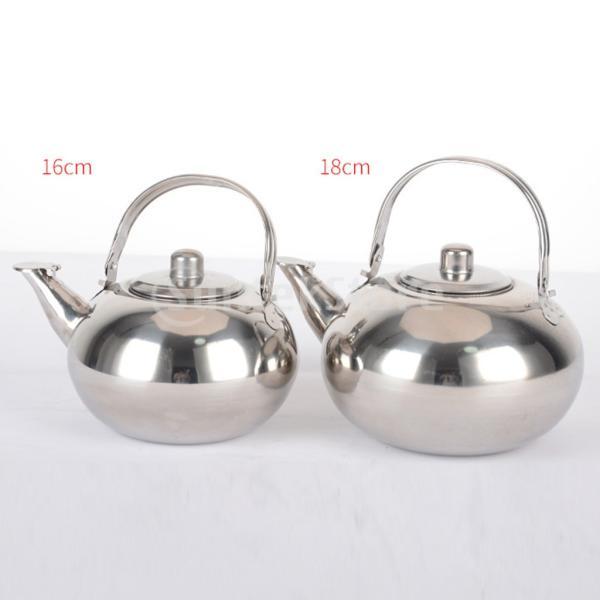 2ピースステンレス鋼ティーポットコーヒー軽量リムーバブル注入器ケトル|stk-shop|06