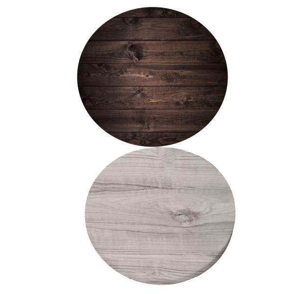 テーブルクロステーブルマットデスクマットマット円形防水耐久汚れ防止