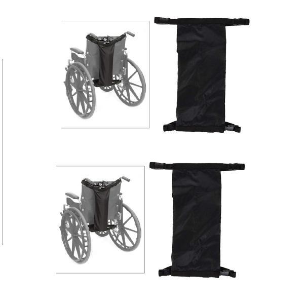 車椅子用2xオックスフォード布酸素ボンベバッグD&EシリンダーHeavyDuty