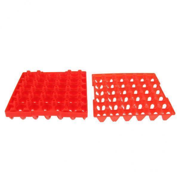 30個の卵プラスチック用の5x5個の卵トレイ