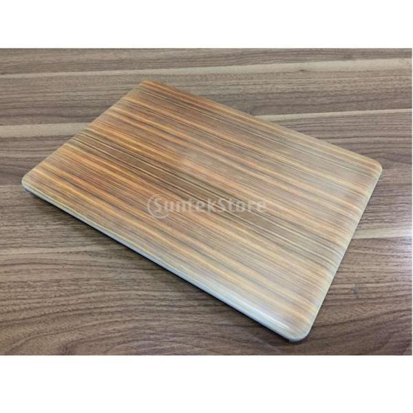 ノーブランド品  木目 ハードケース 保護 防塵 カバー Macbook Pro 13.3 inch 対応 - 2#