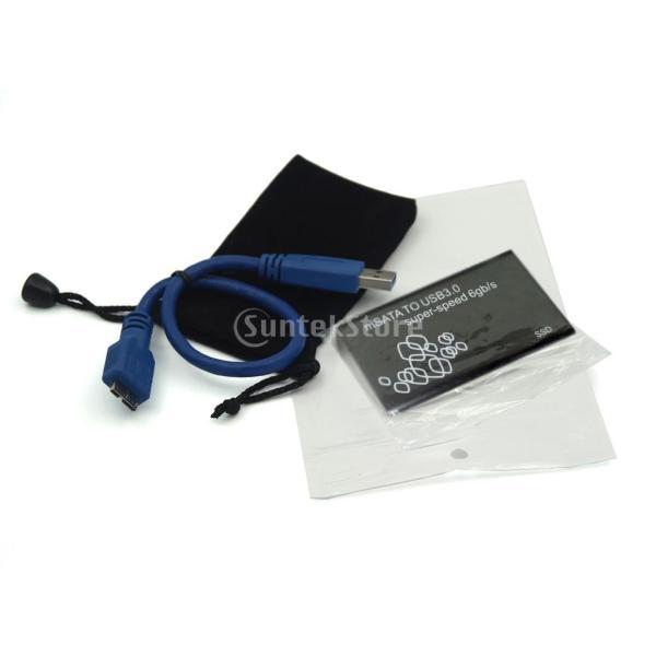 SONONIAUSB 3.0ケーブル ハード・ディスク・エンクロージャ ネジパック - ブラック