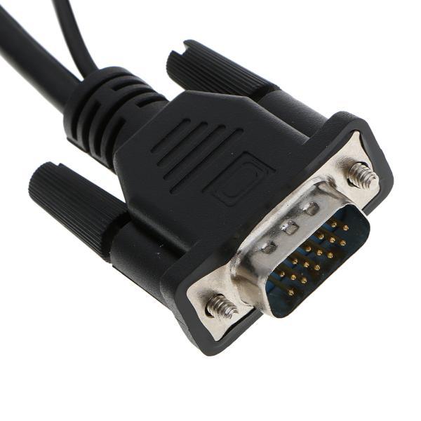 Dovewill  VGA-HDMI コンバータ オーディオ TV AV HDTV ビデオケーブル
