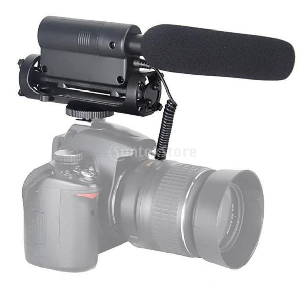 SONONIA  SGC-598マイク 3.5mm入力ソケット 騒音低減 スタジオ/インタビュー適用