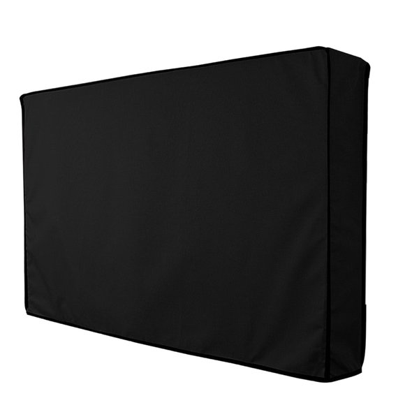 Lovoski 耐久性 テレビカバー 屋外 プロテクター 60 インチ - 65 インチ液晶LED対応 ブラック