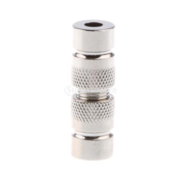 Perfk ワイヤー イヤホン ケーブル メタル 修理交換部品 DIY 4mm スプリッター