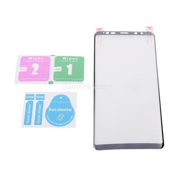 保護フィルム  スクリーンプロテクター カバー クリア 高精細 高透過率 黒 Samsung Galaxy Note 8対応 stk-shop 02