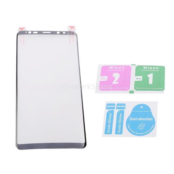 保護フィルム  スクリーンプロテクター カバー クリア 高精細 高透過率 黒 Samsung Galaxy Note 8対応 stk-shop 03