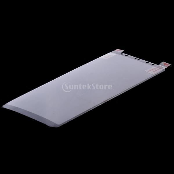 保護フィルム  スクリーンプロテクター カバー クリア 高精細 高透過率 黒 Samsung Galaxy Note 8対応 stk-shop 05