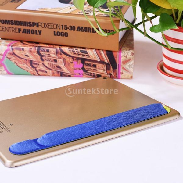 紛失・落下防止 カバー 保護 Apple Pencil用 互換性 便利収納 2色 ステッカー 弾性   - ブルー|stk-shop
