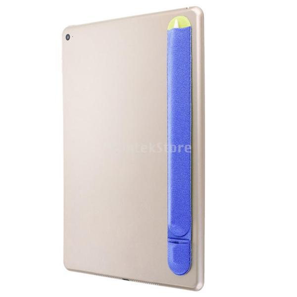 紛失・落下防止 カバー 保護 Apple Pencil用 互換性 便利収納 2色 ステッカー 弾性   - ブルー|stk-shop|05