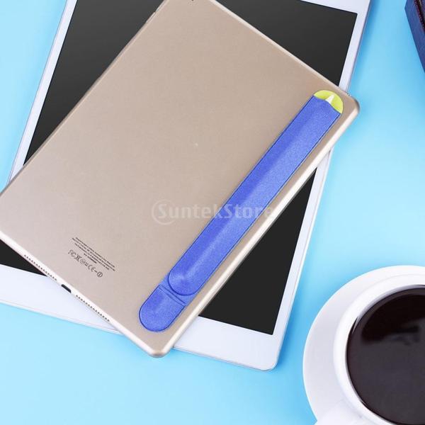 紛失・落下防止 カバー 保護 Apple Pencil用 互換性 便利収納 2色 ステッカー 弾性   - ブルー|stk-shop|06