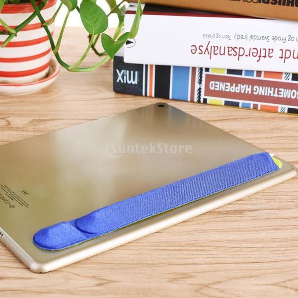 紛失・落下防止 カバー 保護 Apple Pencil用 互換性 便利収納 2色 ステッカー 弾性   - ブルー|stk-shop|10