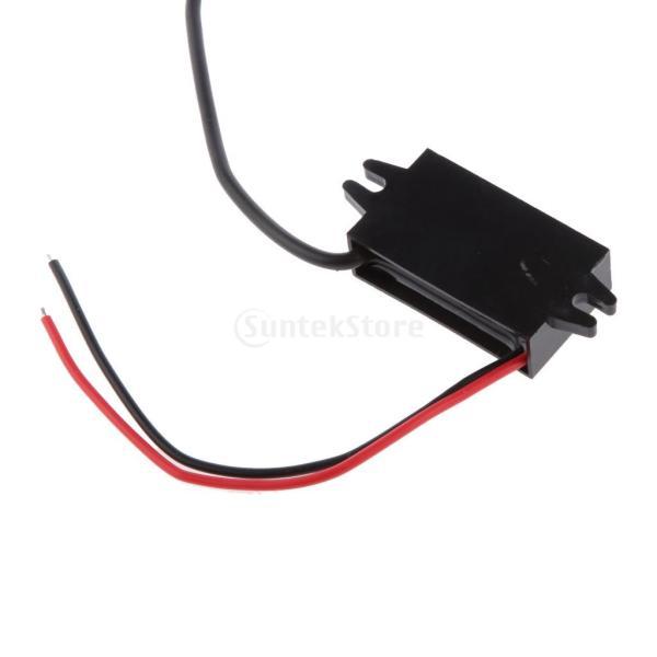 ノーブランド品 高効率 車 DC-DC 12V to 5V USB電源コンバータ・レギュレータ 降圧 パワー モジュール|stk-shop|04