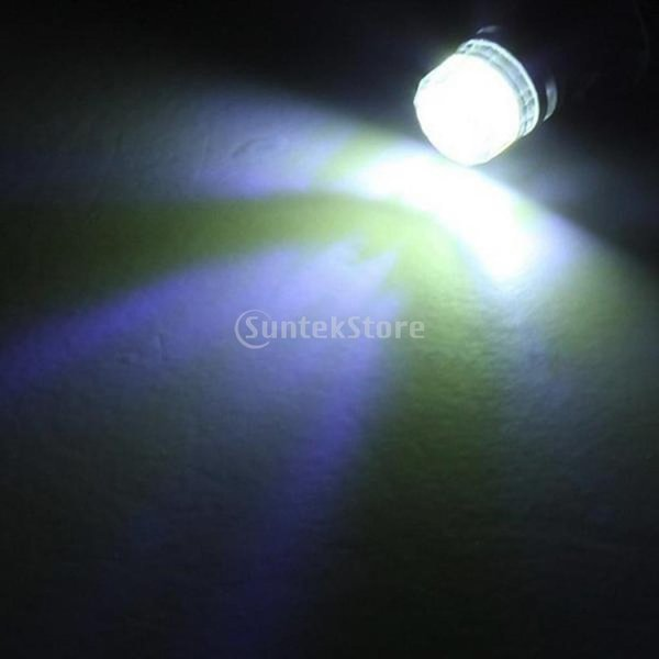 Dovewill  2個 ホワイト 12V T10 5050 5 SMD LED 電球ランプ サイドマーカー ターンシグナルライト|stk-shop|02
