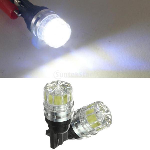 Dovewill  2個 ホワイト 12V T10 5050 5 SMD LED 電球ランプ サイドマーカー ターンシグナルライト|stk-shop|04