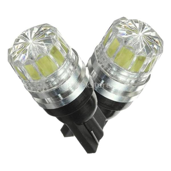 Dovewill  2個 ホワイト 12V T10 5050 5 SMD LED 電球ランプ サイドマーカー ターンシグナルライト|stk-shop|05