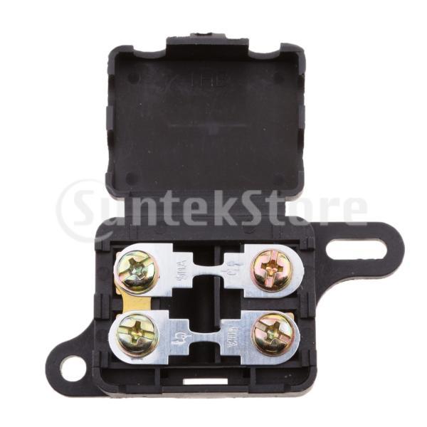 車のボートのトラックのためのANS / ANF / ANGのヒューズホルダーのブロックのヒューズボックスの配電ブロック