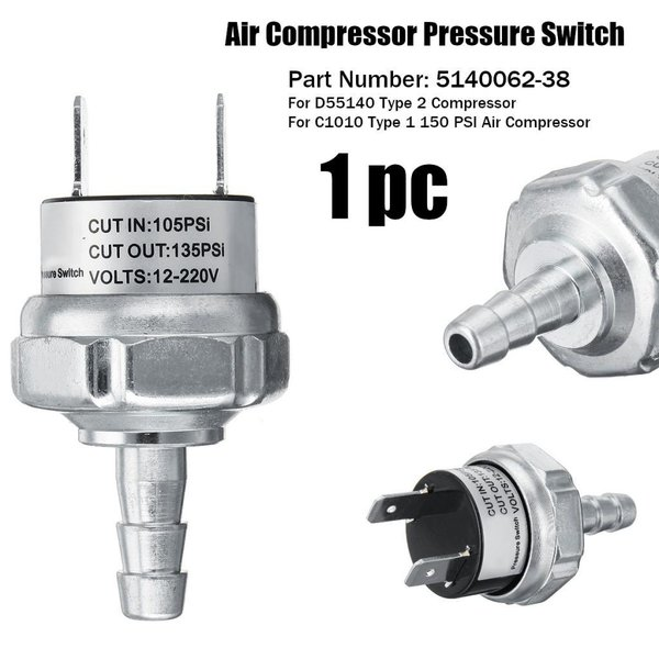 5140062-38コンプレッサー圧力スイッチ