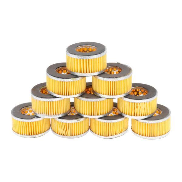 10個のミニコンプレッサー吸気フィルターターボベントテーククランクケースブリーザーはエアフィルターメタルボディ36ミリメートル内径