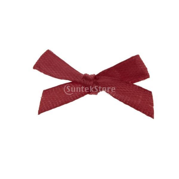 ノーブランド品 ミニ 3cm リボン ボウタイ DIY 縫製 ギフト ボックス飾り stk-shop 05